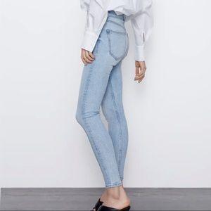 Zara Vintage High-Rise Skinny Jeans